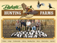 Dakota Hunting Farms Logo